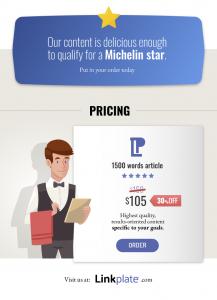 Linkplate pricing 30off premium content