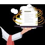 High Quality Premium Content Writing Icon